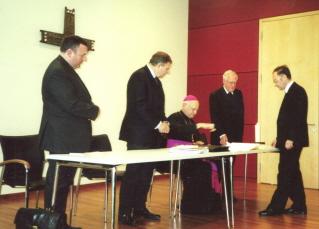 Foto der Mitglieder im Informativprozess zur Seligsprechung